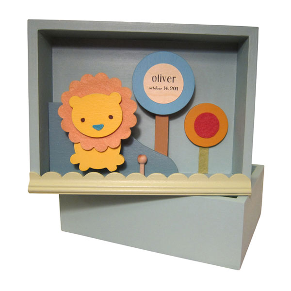 Vintage Baby Keepsake Boxes