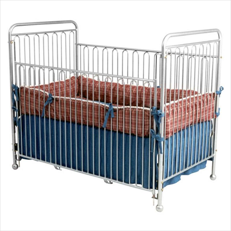 All American Iron Vintage Baby Crib