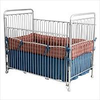 All American Iron Vintage Baby Crib