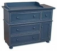 Artifakts Removable Top Convertible Changing Dresser - 4 Drawers, 1 Door, 1 Adj Shelf