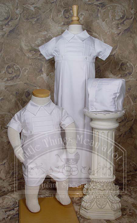 Vintage Baby Boys Christening Apparel