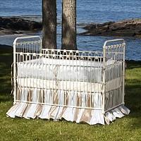 Crib - 'Whitby' Iron Vintage Baby Crib