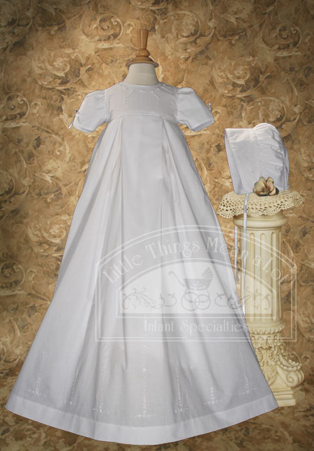 Vintage Baby Girls Christening Apparel
