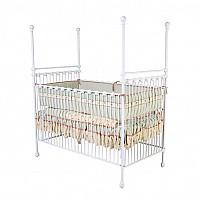 Finial Iron Vintage Baby Crib