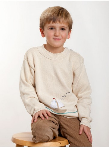 Capistrano Boys Cotton Pullover