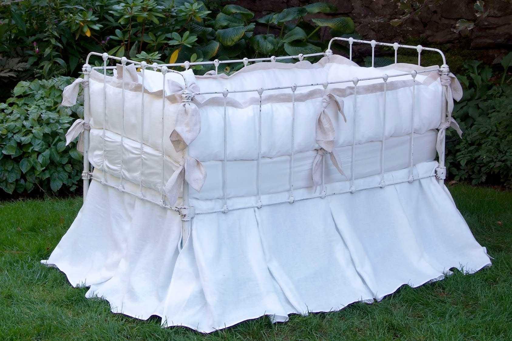 Avignon Vintage Baby Crib Linens