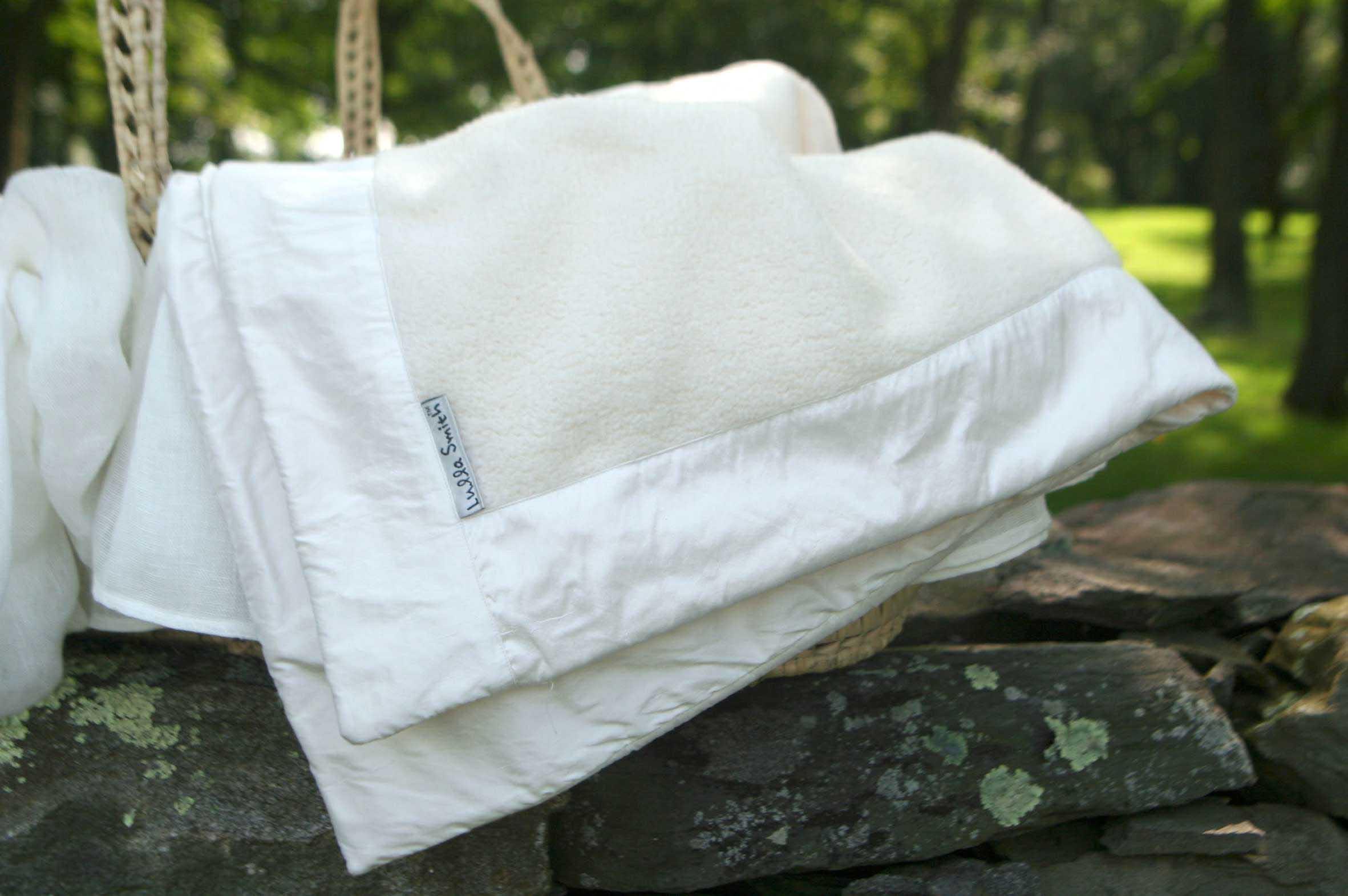 Cotton/Linen Receiving Blanket