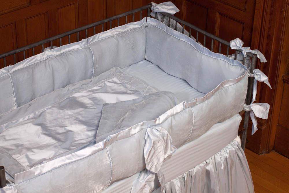 Silk Velvet Receiving Blanket