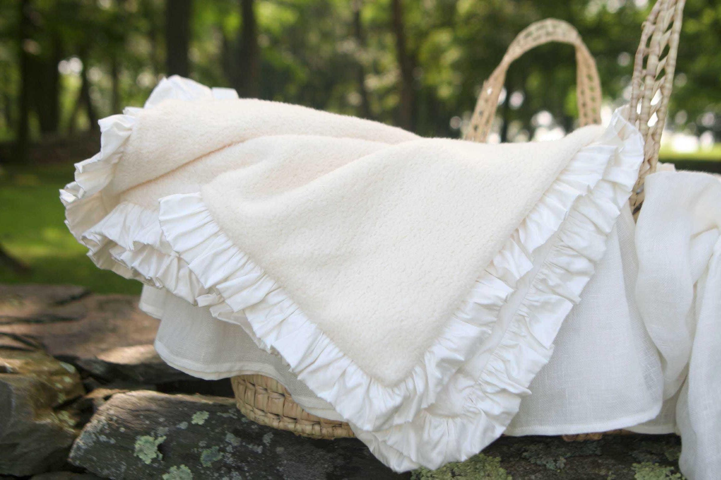 Cotton Receiving Blanket