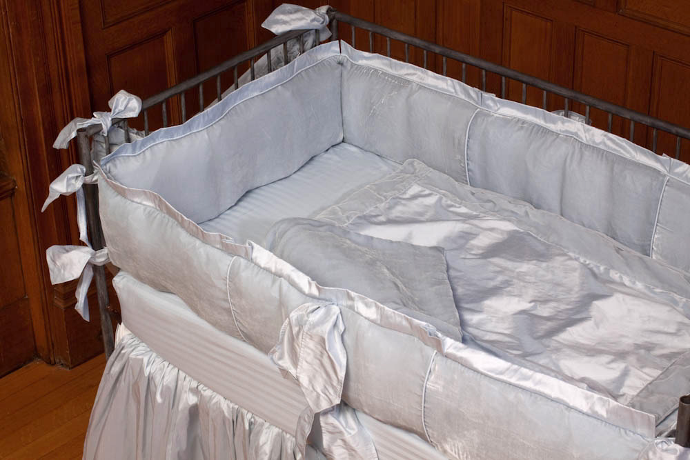 Dupioni Silk Receiving Blanket