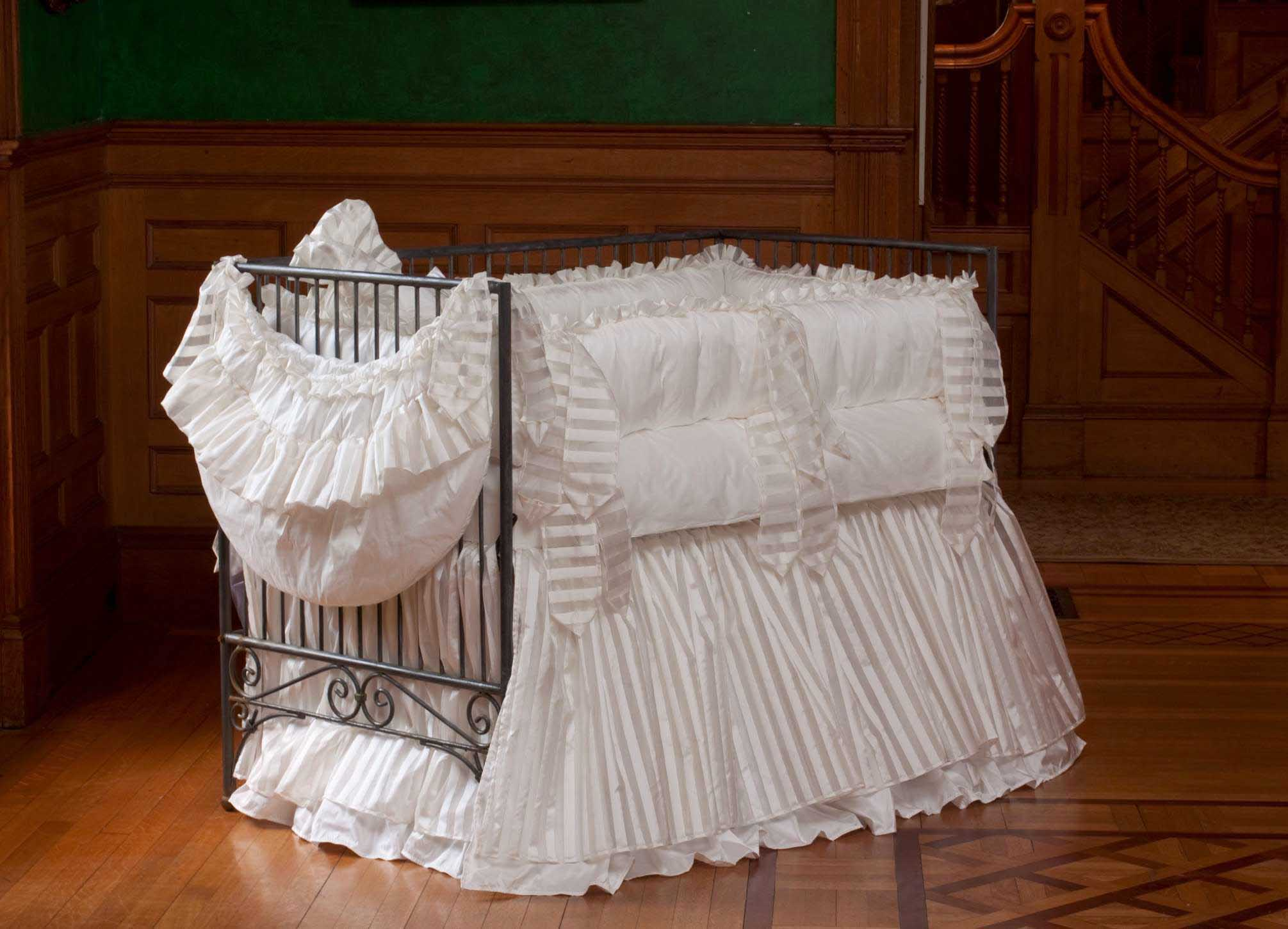 Lulla Smith Vintage Luxury Crib Linens
