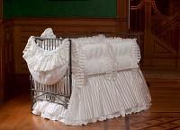 Celeste Vintage Baby Crib Linens