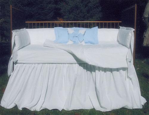 Seersucker Crib Linens