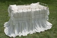 Sorrento Vintage Baby Crib Linens