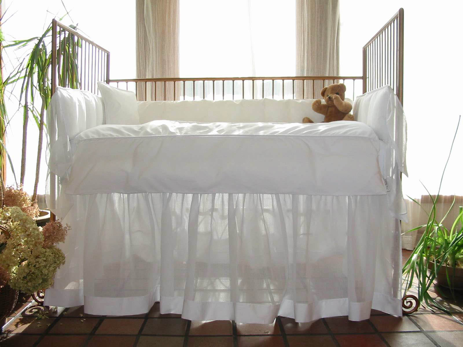 Cloud Vintage Baby Crib Linens