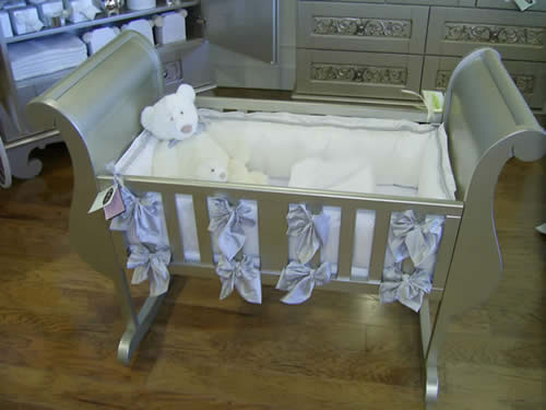 Lulla Smith Vintage Luxury Cradle Linens