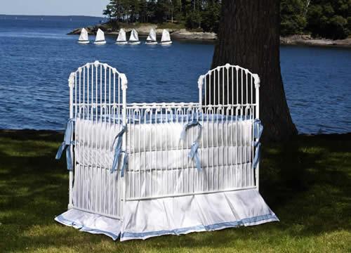 Essex Vintage Baby Crib Linens