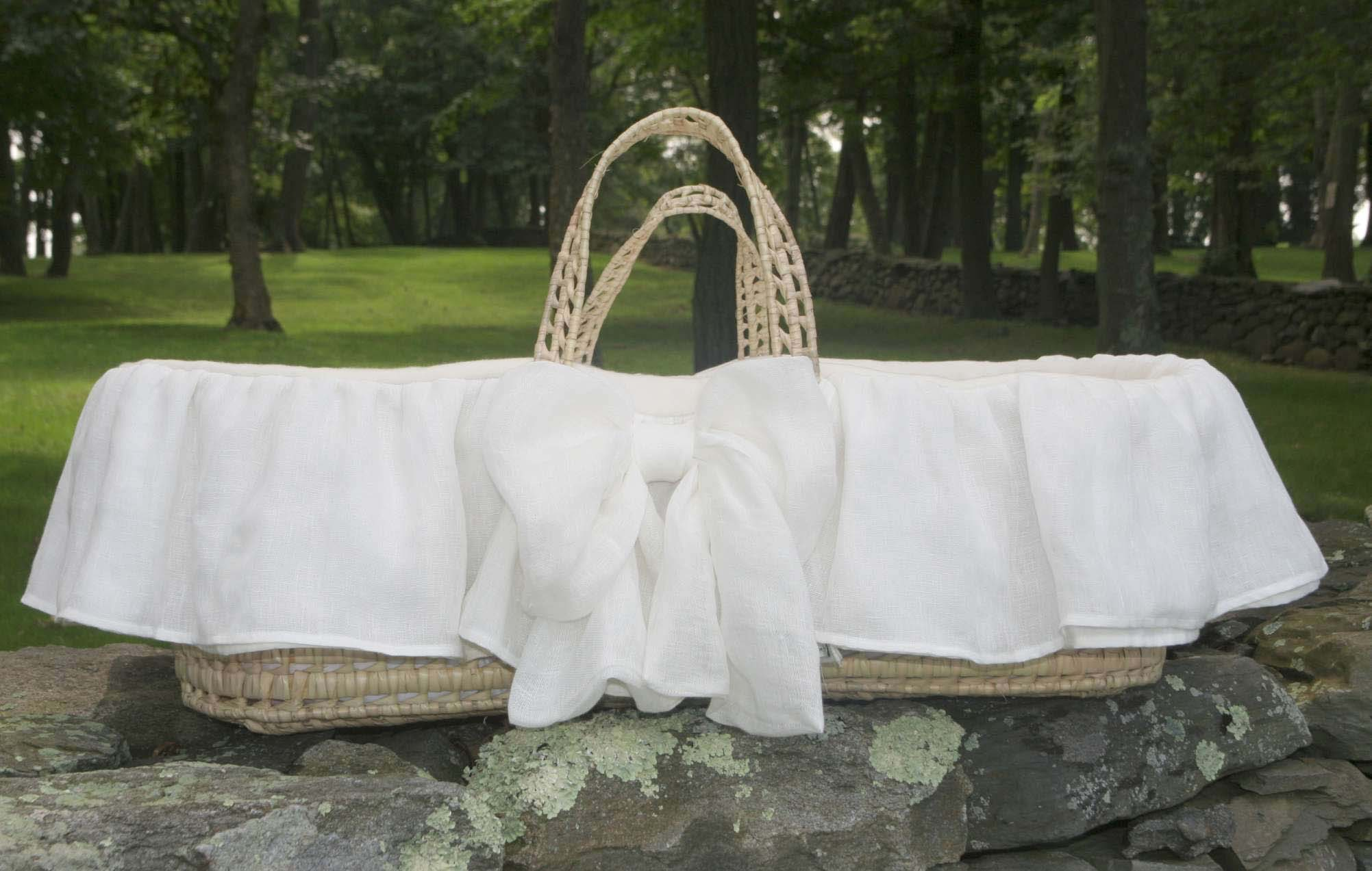 Organic Cotton Moses Baskets