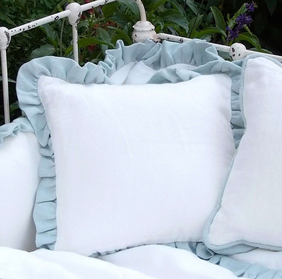 Laundered Linen Pillows