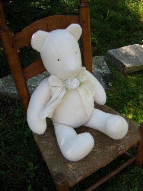 Organic Cotton Teddy Bear