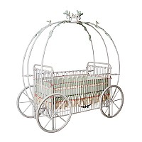 Fairy Tale Iron Vintage Baby Crib