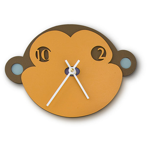 Just Monkeying Around Clock