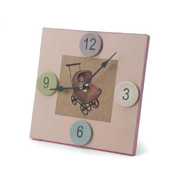 Princess Pink Clock