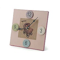Princess Pink Clock