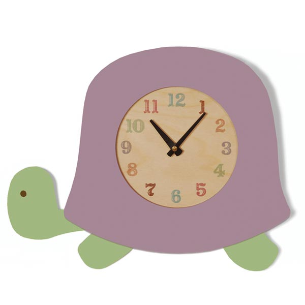 Buddy the Turtle Clock