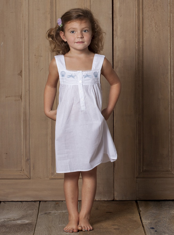 Capistrano Seaside Cotton Dress