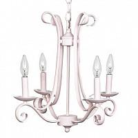 CherishDay Harp Chandelier Pink