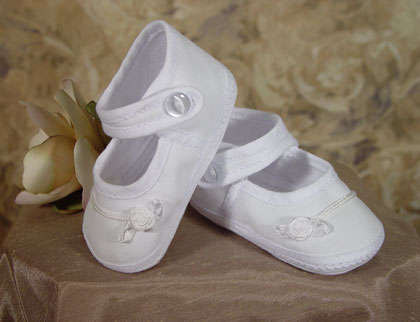 SoDainty Girls Cotton Batiste Shoe