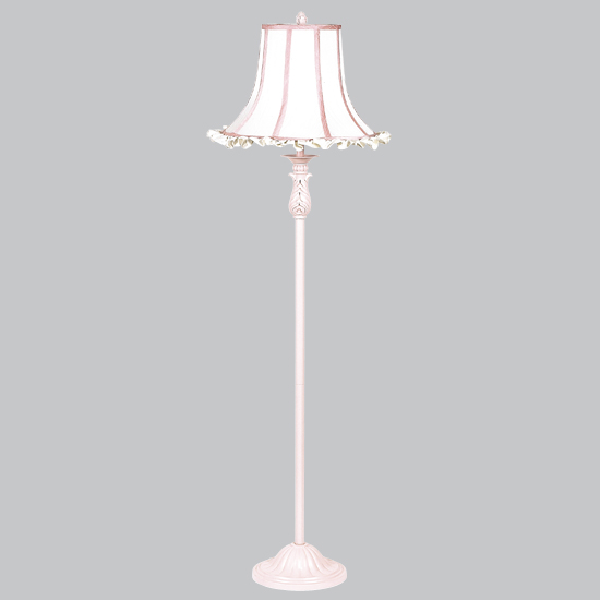 CherishDay Ridged Floor Lamp Bright Idea Pink