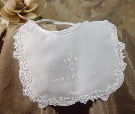 SoDainty Girls Matte Satin Cross Bib