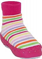 Cedara Nowali Pink Stripe Moccasin