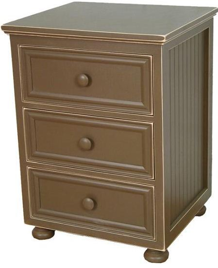 Artifakts Sides - 3 Drawer Night Table
