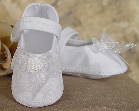 SoDainty Girls Organza Shoe