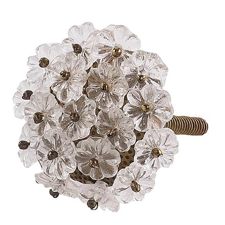 CherishDay Flower Beads Knob
