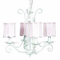 CherishDay Harp Chandelier Bright Idea - Pink Stripe