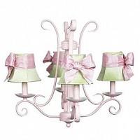 CherishDay Harp Chandelier Pink Bright Idea