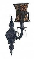 CherishDay Scroll Bright Idea  Black Leopard Hourglass