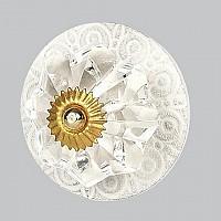 CherishDay Circle White Knob
