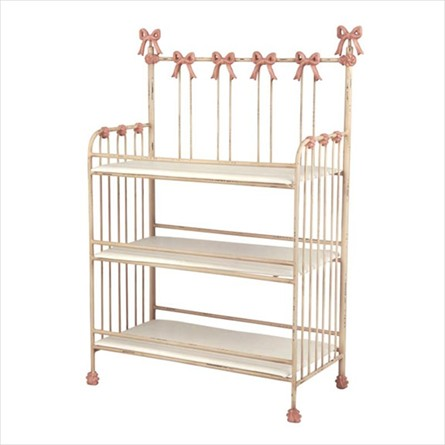 Bow Iron Changing Table