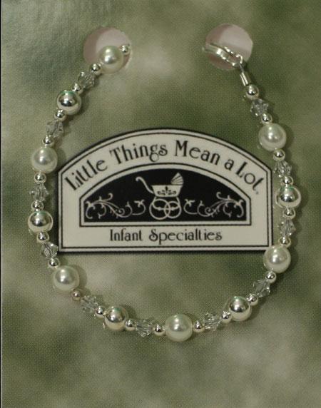 SoDainty Pearl & Sterling Silver Bracelet