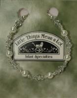 SoDainty White Pearl Sterling Silver Bracelet