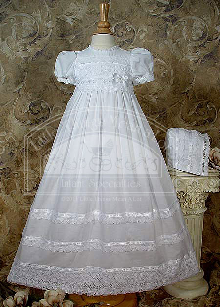 SoDainty Short Sleeve Victorian Gown