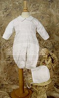 SoDainty Pin Tucked & Smocked Pant Set