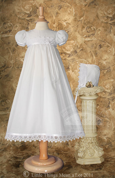 SoDainty Italian Lace Cotton Dress