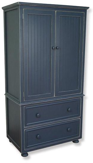 Artifakts Deep Armoire w/ 1 Adjustable Shelf