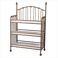 Iron Changing Table with Finials
